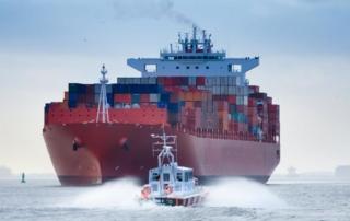 Hamburg, Containerschiff